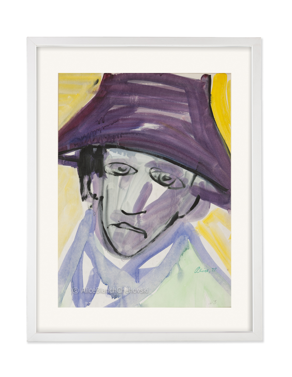 Untitled Portrait, 1972