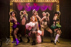 "Production shot from ""Cabaret the Musical"""